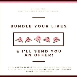 Other - Bundle some of your favs!!!